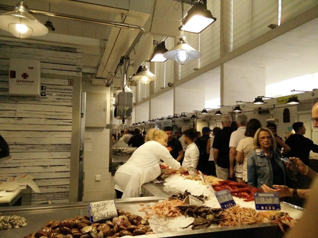 De Compras por el Mercado del pescado