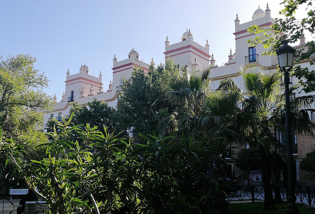 Torres Mirador de la pz de España en Cádiz