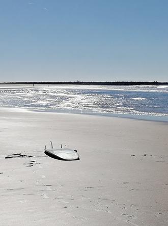 Una de las playas de Cádiz donde se practica el Surf