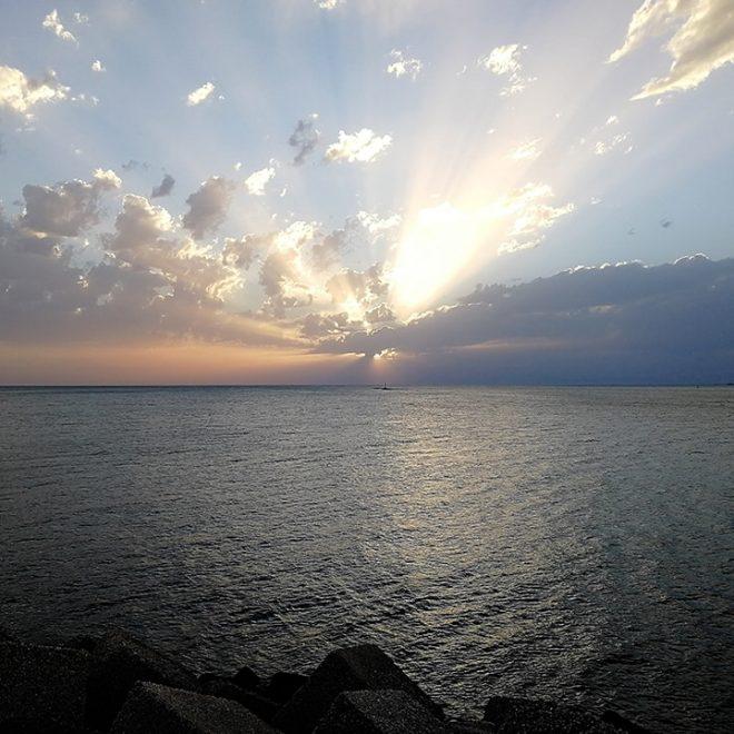 Vistas del mar paseo Peri Juquera