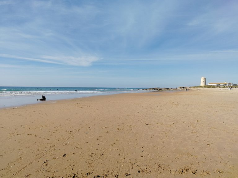 La playa del Palmar la mejor para practicar surf